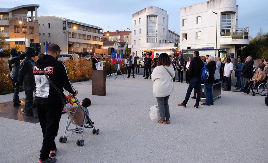 Discours de Carinne JUSTE, Maire, le 17 octobre 2018